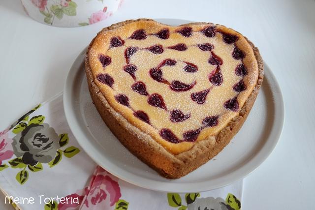 Alleine Für Diesen Käsekuchen Lohnt Es Sich, Künftig Jedes Jahr Den  Valentinstag Zu Feiern!!!