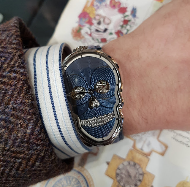 Petit Skull Bleu