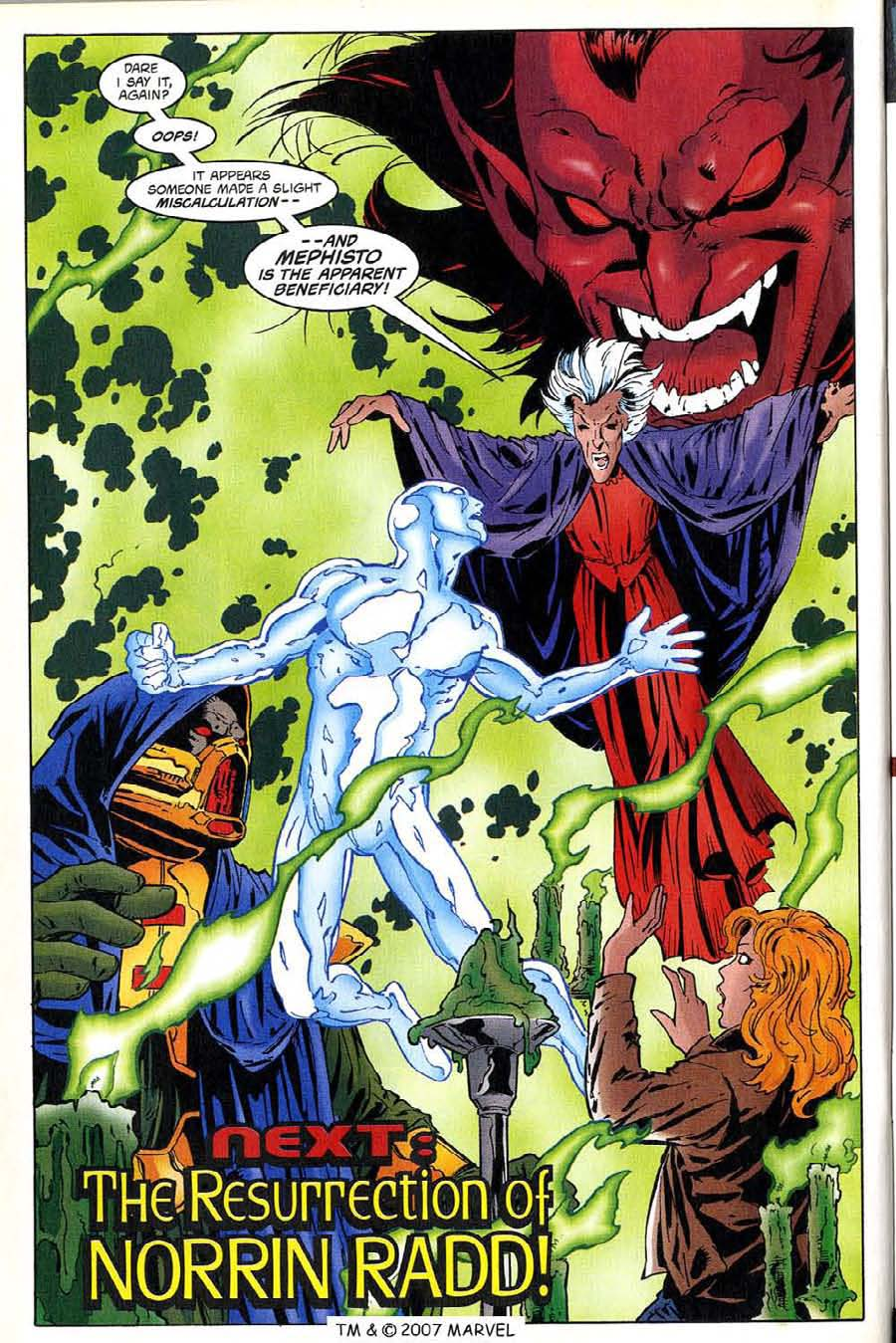 Read online Silver Surfer (1987) comic -  Issue #136 - 34