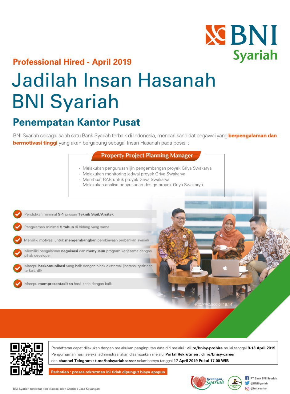 Bank BNI Syariah Besar Besaran