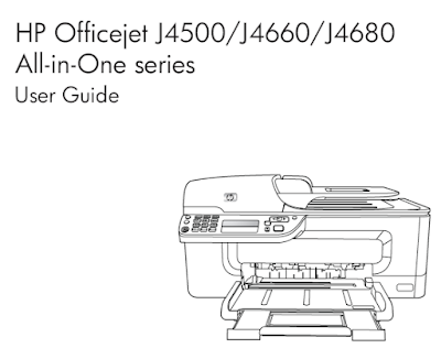 HP OFFICEJET J4500 USER MANUAL