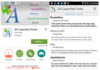 Merubah Font Android