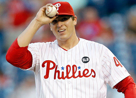 Jerad Eickhoff is one of the Phillies starting pitchers that needs to improve in 2018.