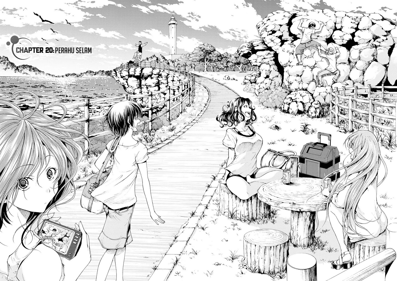 Komik grand blue 020 - chapter 20 21 Indonesia grand blue 020 - chapter 20 Terbaru 4|Baca Manga Komik Indonesia