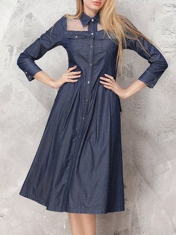 https://www.stylewe.com/product/dark-blue-paneled-denim-casual-plain-shirt-dress-74276.html