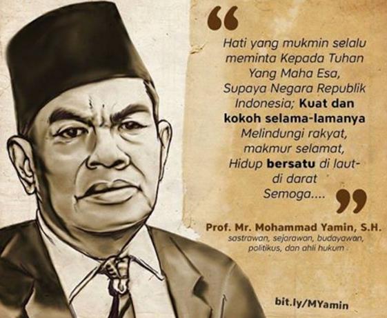 Kis Nasionalisme Indonesia Dalam Pandangan Mohamad Yamin Sidang Pertama Bpupk Tanggal 29 Mei 1 Juni 1945