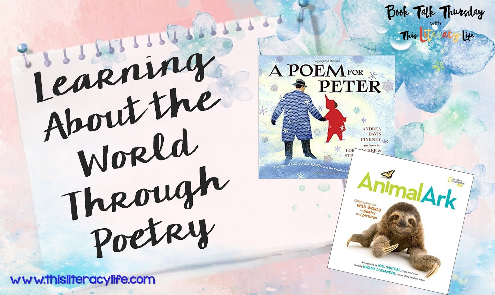 Nonfiction poetry is awesome for helping readers see the big picture and figure out the main idea. These two books make it easy and fun!