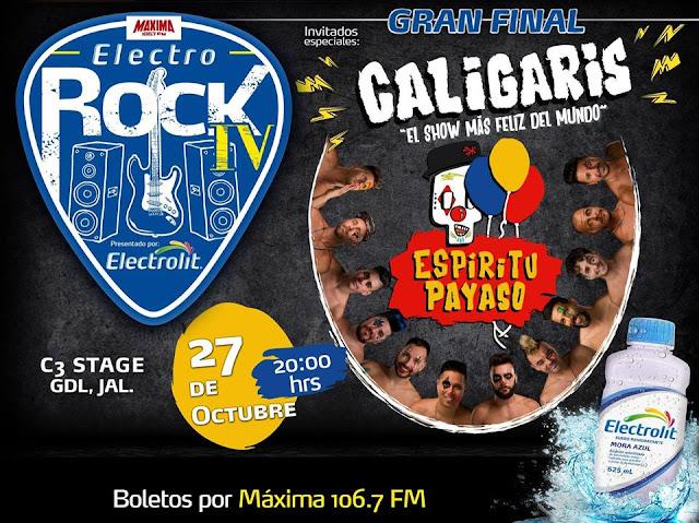 Los Caligaris  Electro Rock Electrolit
