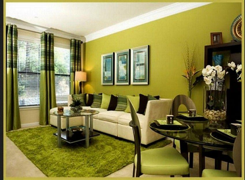 ide cat interior ruang tamu yang minimalis