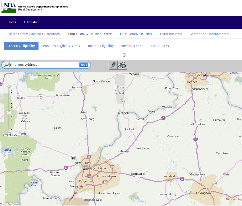 Kentucky USDA Rural Housing Loans : Kentucky USDA Morte Loan ... on