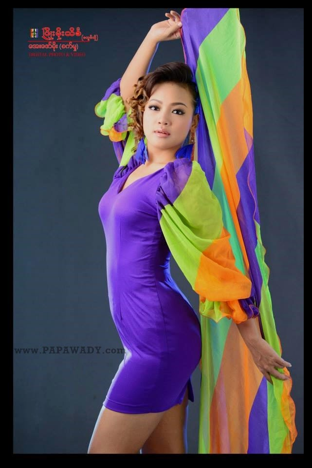 Nang Khin Zayar - Beautiful Studio Photoshoot