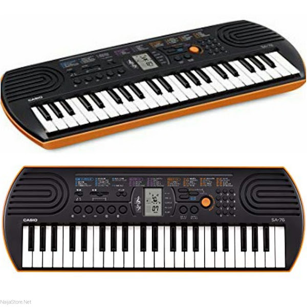 Casio Keyboards: SA-76 Portable Music Keyboard with 44 Keys - Musical Instruments