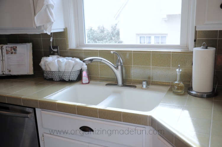 organizing kitchen sink area organized resolutions being less wasteful organizing 3797