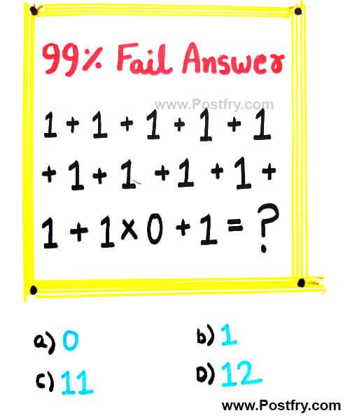maths puzzel question