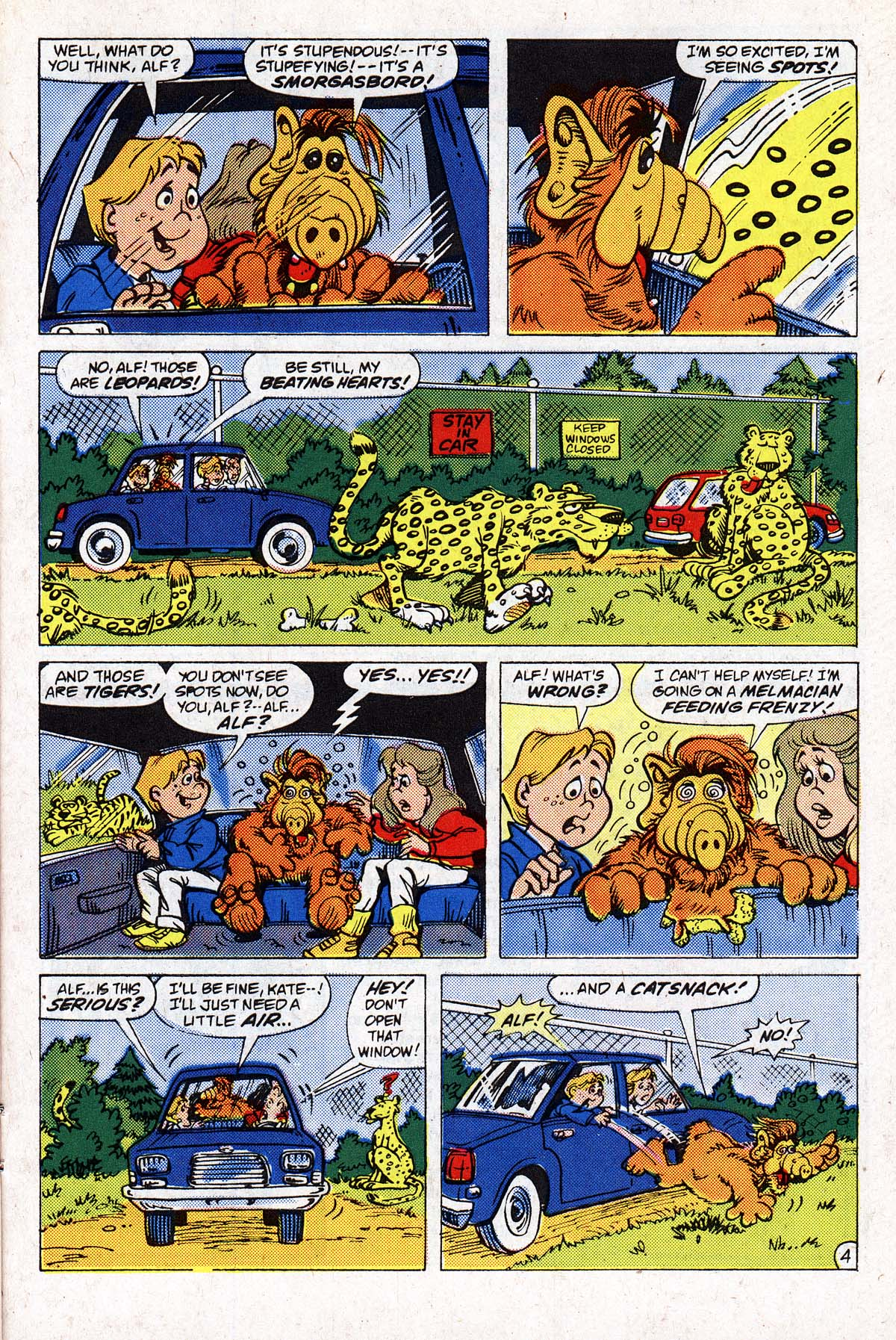 Read online ALF comic -  Issue #2 - 86