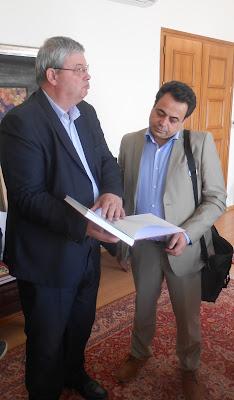 Σύσκεψη Καχριμάνη με τον Υφ. Ναυτιλίας και Νησιωτικής Πολιτικής