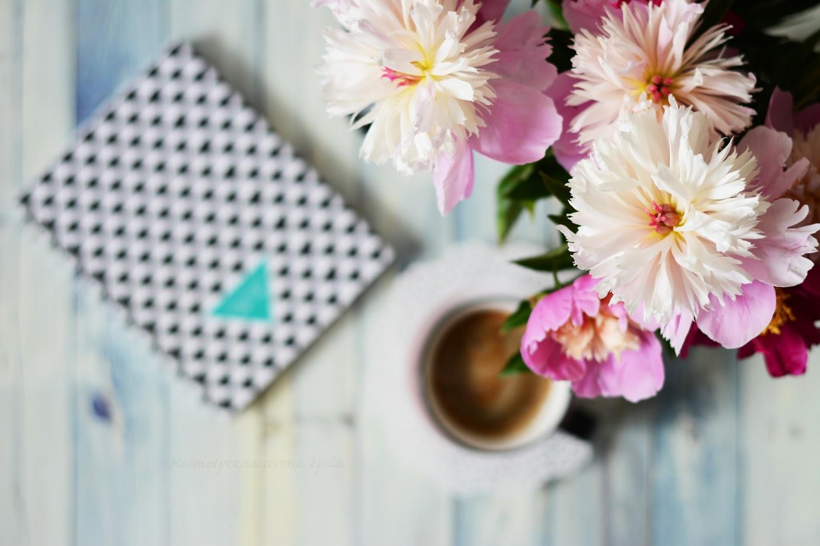 Plany wakacyjne - printea - piwonie - design your life