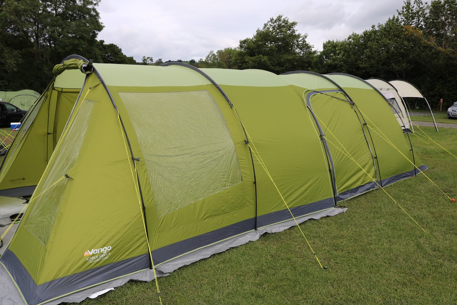The Tent Itself Is GBP199 In Sale But We Got Bundle Which Included Carpet Foot Print And Canopy Awning For GBP375