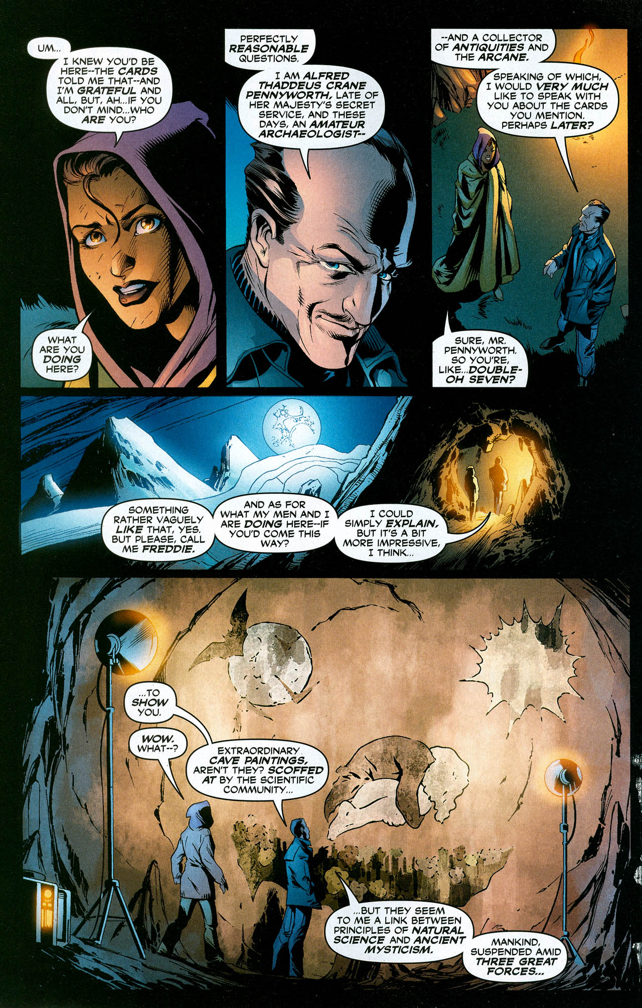 Read online Trinity (2008) comic -  Issue #19 - 8