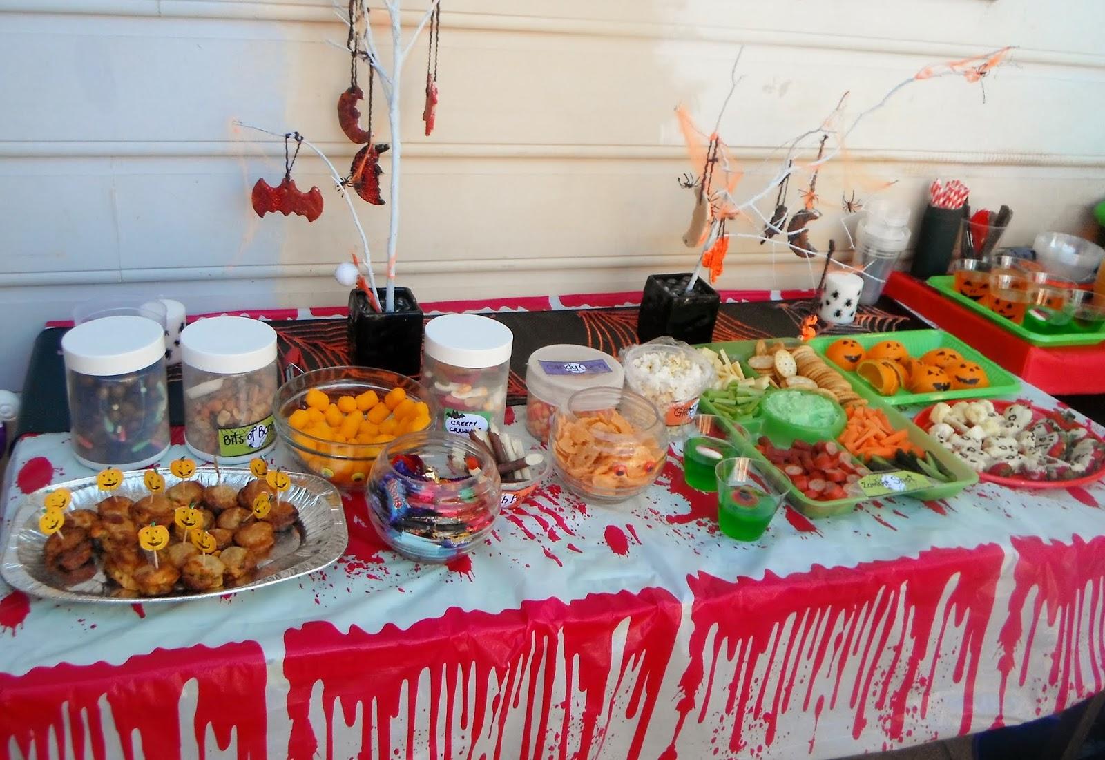 children s halloween party food recipes | frameimage