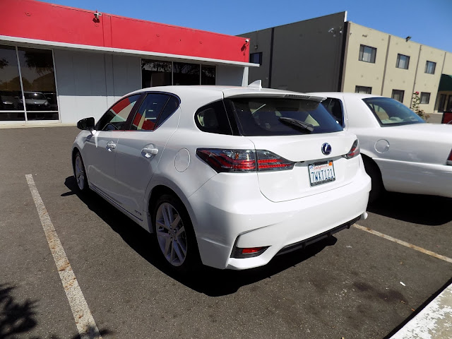 2017 Lexus CT200H after collision repairs and auto paint at Almost Everything Auto