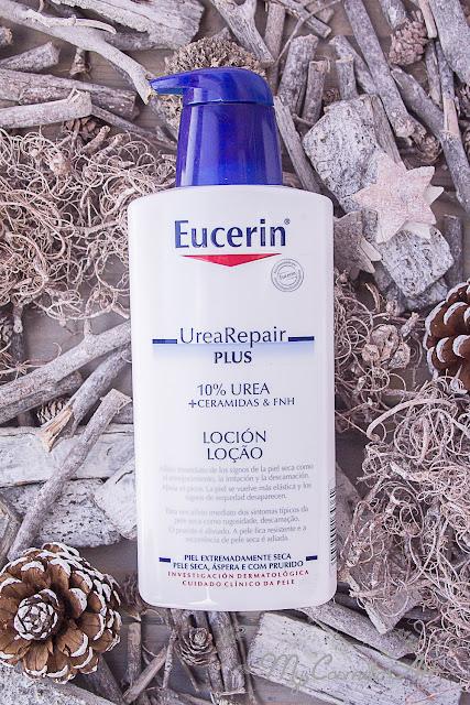 Eucerin Urea Repair Plus: loción corporal y crema de manos, y algunos tips para que la piel no se deshidrate con el frío.