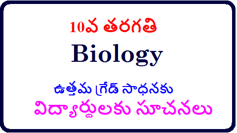 10వ తరగతి విద్యార్థులకు సూచనలు జీవశాస్త్రంలో /2018/12/SSC-10th-class-instructions-to-students-in-biology-subject-to-get-good-marks.html