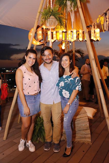 Cristina Rodríguez, Ariel Contreras y Beatriz Rodríguez