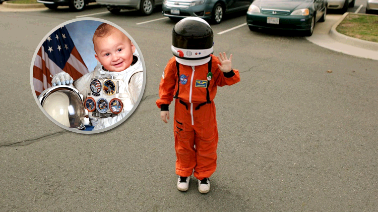 baby Guardian of the Galaxy applied for NASA job