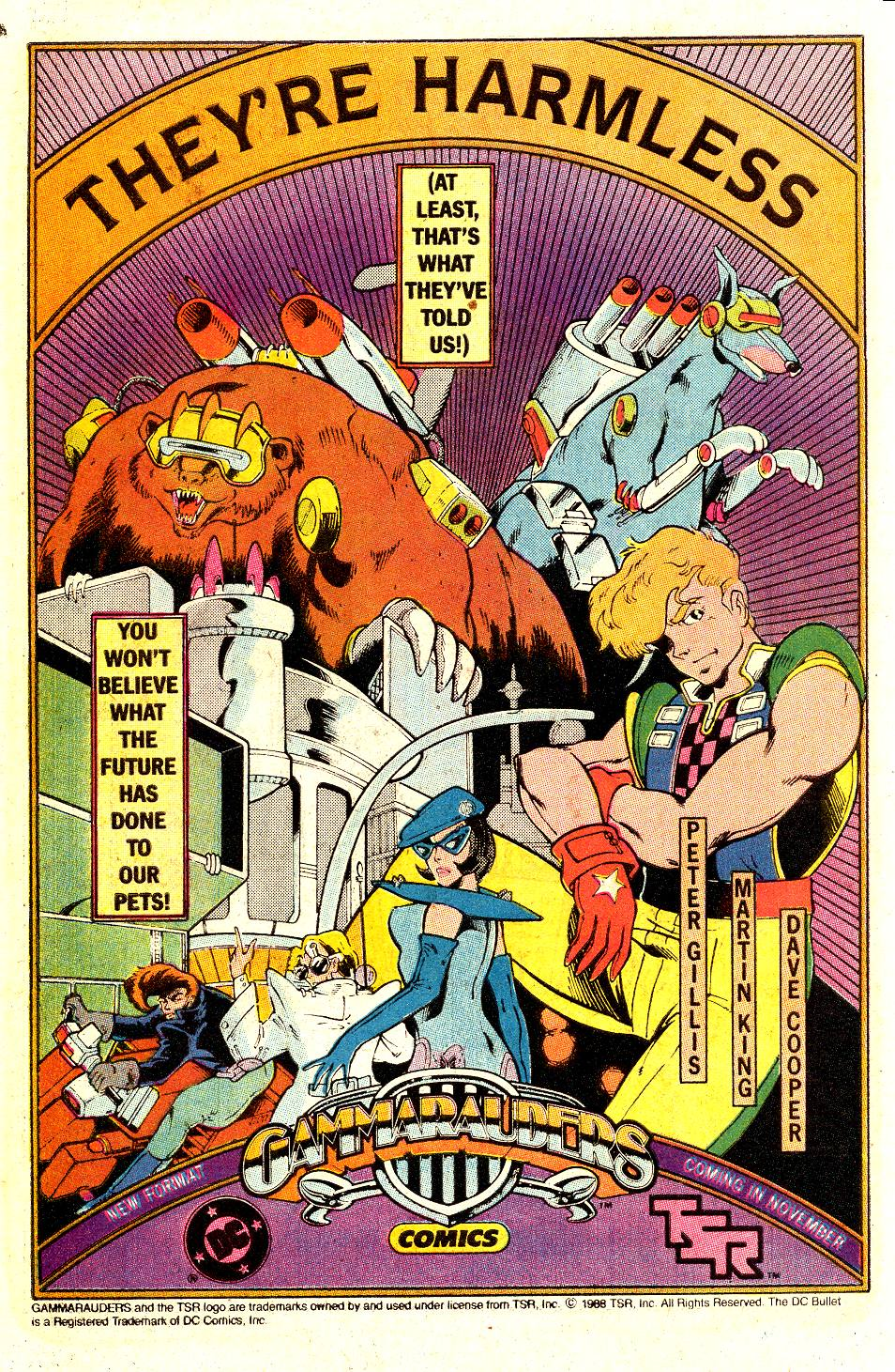 Read online Secret Origins (1986) comic -  Issue #35 - 42