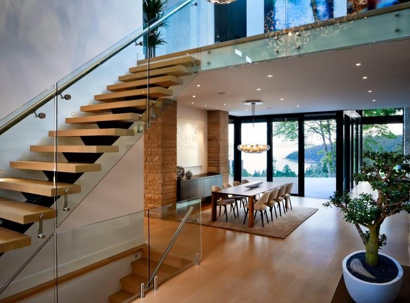 Hogares frescos residencia burkehill una casa for Interiores de casas contemporaneas