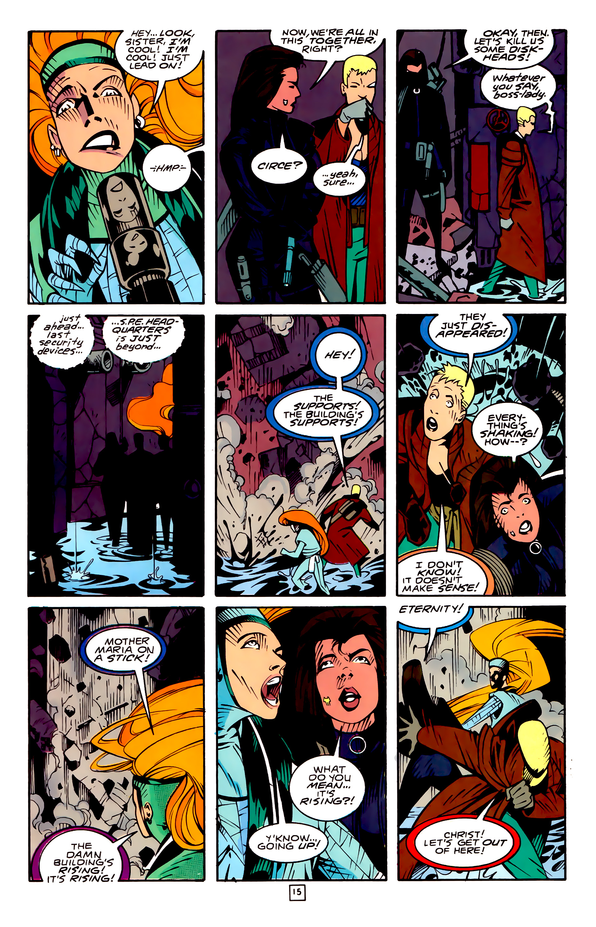 Legion of Super-Heroes (1989) 32 Page 15