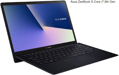 Asus ZenBook S Core i7 8th Gen (UX 391UA-ET012T) Thin and Light Laptop | 13.3 Inches/ 16 GB/512 GB SSD/Windows 10 Home