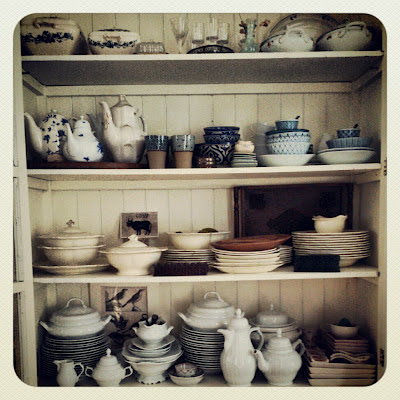 ByHaafner, crockery, porcelain, cupboard, collection