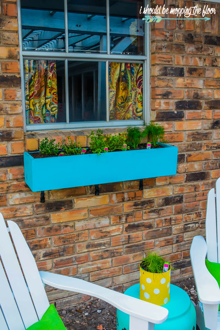 Patio Window Boxes
