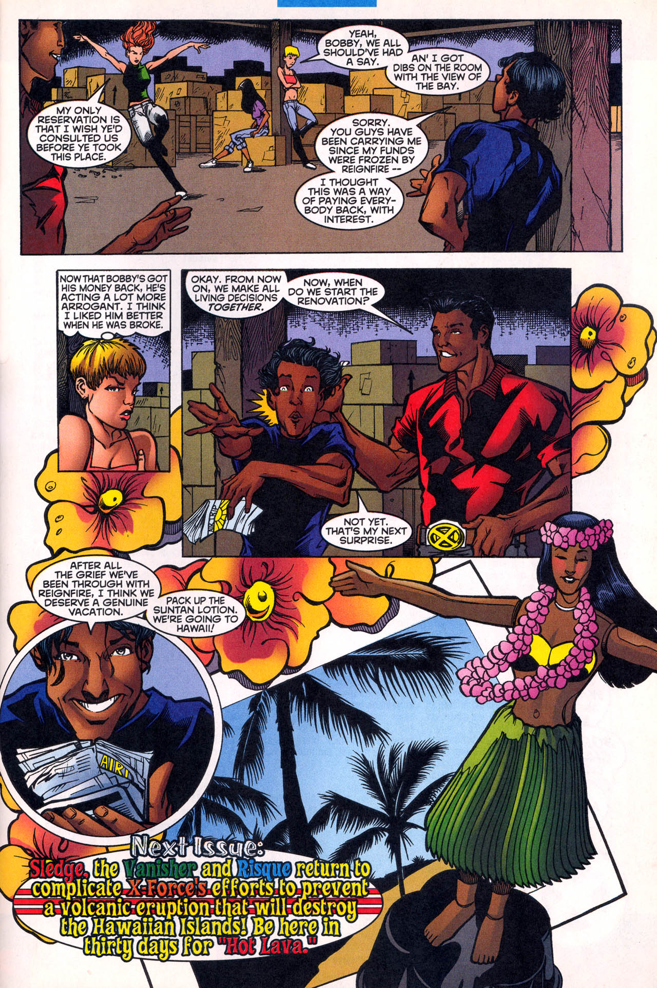 Read online X-Force (1991) comic -  Issue #80 - 32