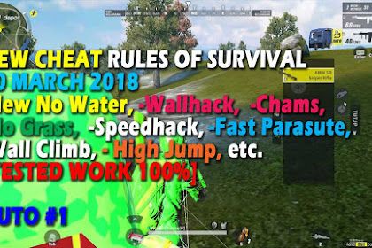 Cheat Rules of Survival Serin 6.0 Update 20 Maret 2018