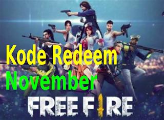 Berikut adalah 5 kode redeem voucher Google Play Free Fire terbaru November 2019.