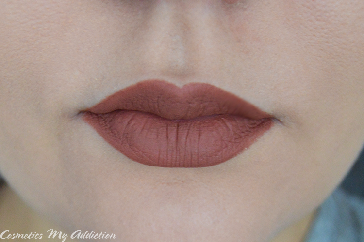 LOVELY | Matowa pomadka K Lips Milky brown