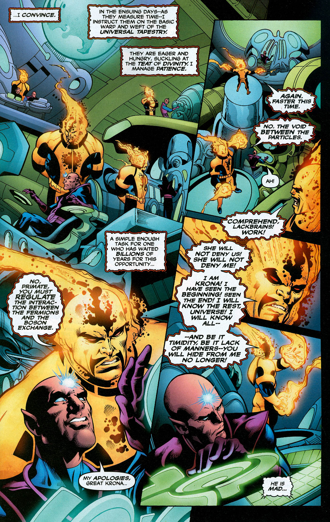 Read online Trinity (2008) comic -  Issue #20 - 25