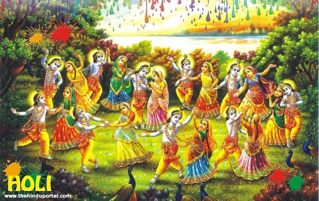 Holi Pooja Process