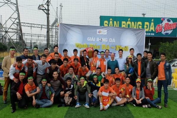FPT Bắc Giang Vô Địch Bóng Đá Vịnh Bắc Bộ 3