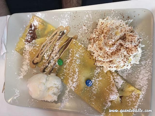 Crepe Kacaoland com Gelado + Chantilly