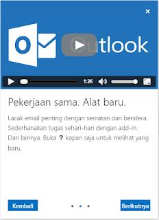 cara membuat email baru di hotmail atau Outlook
