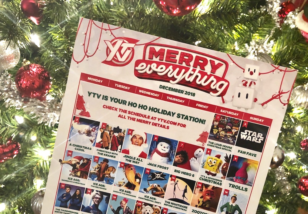 Merry Everything From YTV And Treehouse!