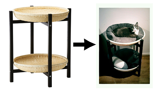 15 ikea diy your cat will appreciate meow for Diy cat furniture