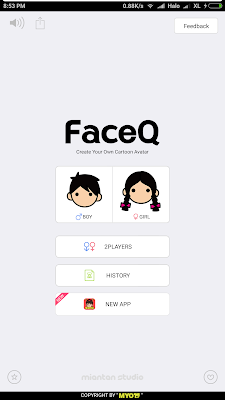 Tutorial Full Avatar dengan FaceQ