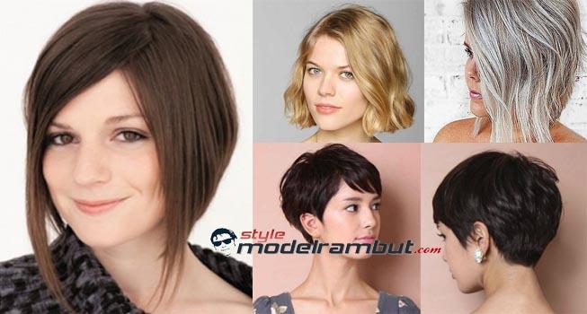 Model Rambut Pendek Wanita Gemuk Agar Terlihat Kurus - Style Model ... f6a4c2ba10