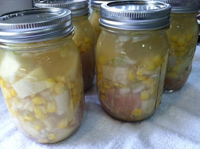 Canning En Corn Chowder Yummo