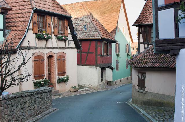 Hunawihr pueblo Alsacia encanto